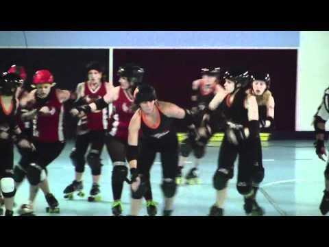 ICTRG vs SIN CITY ROLLER GIRLS in Broken Arrow, OK  04/15/12  1st half
