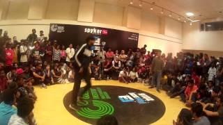 Bboy Blade (Firing shoes crew) vs Bboy sarkar (techno kamaal crew) || freeze 2k16 || prelims