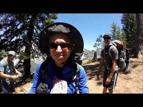 Glacier Point to Little Yosemite Valley-  Yosemite National Park -June 30, 2017