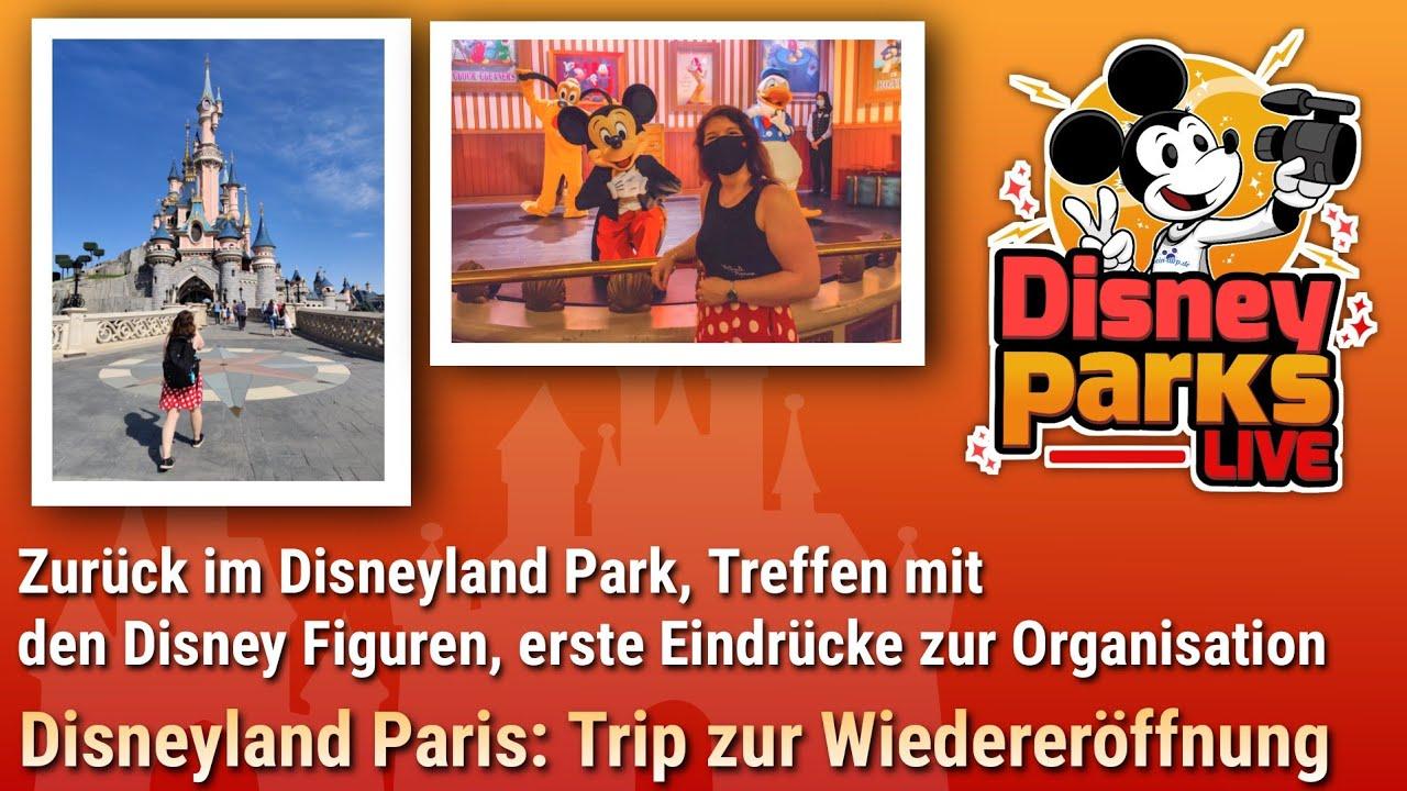 Zurück im Disneyland Park, Treffen mit den Disney Figuren & Eindrücke zum Ablauf | dein-dlrp Vlog
