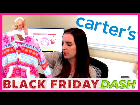 Carter's Baby Girl Clothing Haul | Winter 2016 | Black Friday Sale!