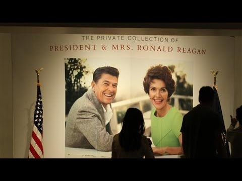 President Reagan's Private Collection Goes to Auction