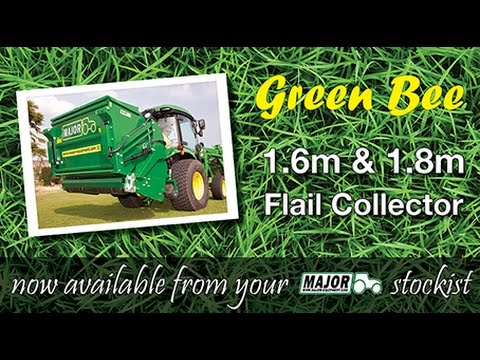 MAJOR Green Bee Flail Mower Collector