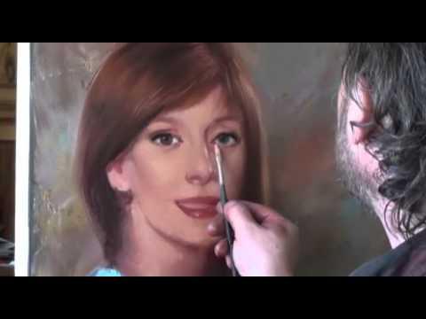 """FREE! Full video """"portrait from photo"""" painter Igor Sakharov"""