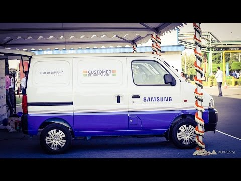 Thumbnail: Samsung Customer Delight service and service vans overview