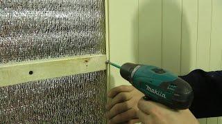 видео Максимус окна - утепление балкона пенофлексом и пенофолом