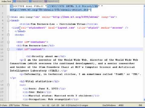 PART 09 Styling The HTML Content Styling The Tables And Inserting Image Tags Into The Web Page