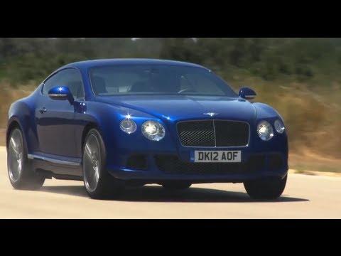 Bentley Continental GT at 205.4 MPH Demo Top Speed Commercial Bentley GT Speed Carjam TV HD 2014
