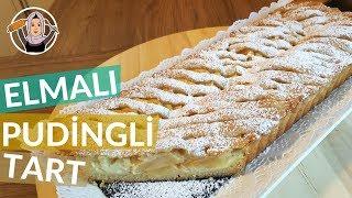 Elmalı Pudingli Tart Tarifi | Ağızda dağılan nefis lezzet | Hatice Mazı ile Yemek Tarifleri