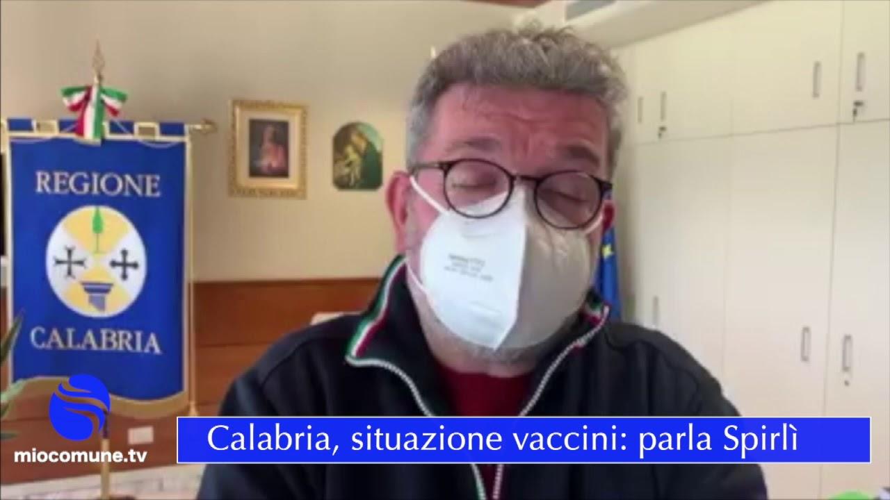 Calabria, Lotto AstraZeneca somministrate più di 5mila dosi - VIDEO
