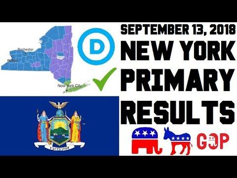 September 13, 2018 New York Primary Results Analysis - Governor, State Senate, IDC Caucus Mp3