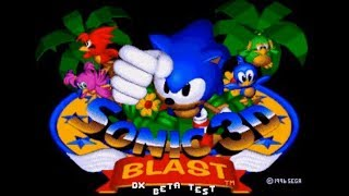 Sonic 3D Blast Director's Cut (Genesis) - 100% Complete Longplay