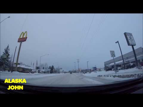 ALASKA DRIVING - Anchorage - December 30th 2016 to January 6th 2017