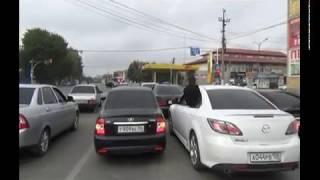 Свадебный кортеж в Ингушетии