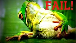 Frog Fishing Fails! The Struggle is REAL - Topwater Bass Fishing