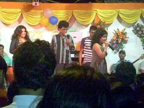 tithi bose (jhilik) visited a function