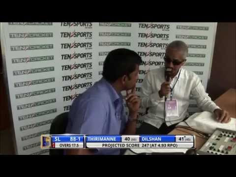 SLC Chairman Sidath Wettimuny interviewed by Ten Sport