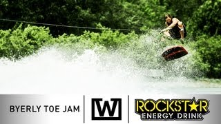 The Wakeskate Tour - Episode 1 Byerly Toe Jam