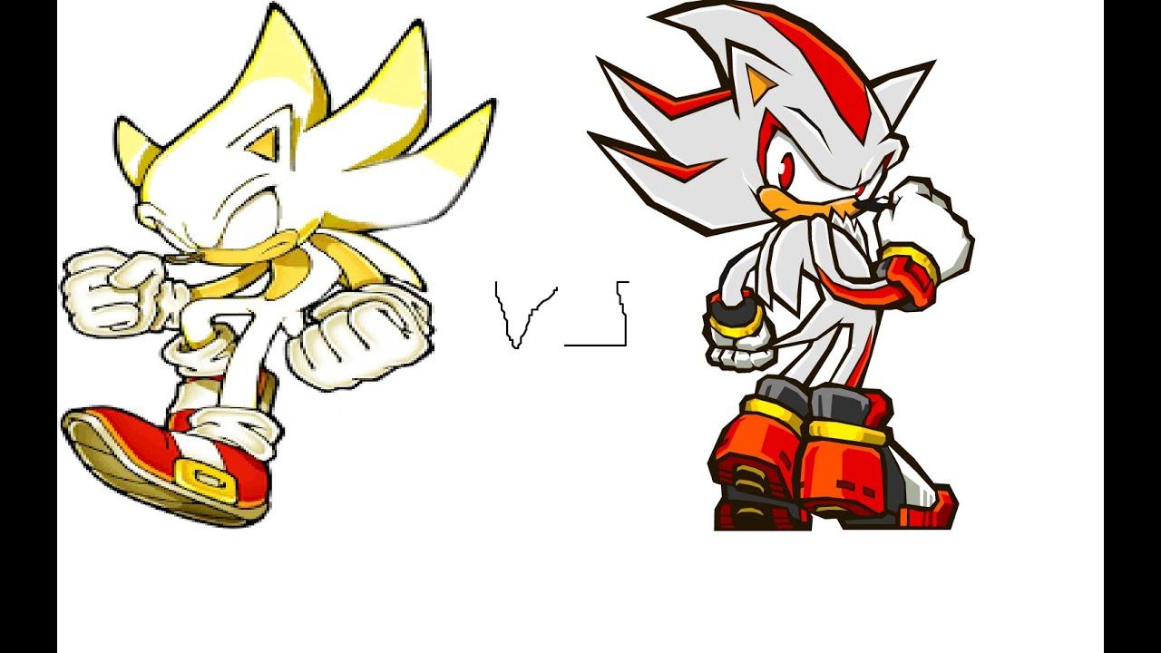 True Hyper Sonic Vs Hyper Shadow Part 2 - YouTube