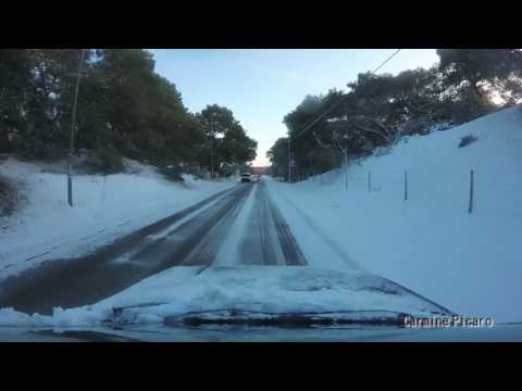 Nevicata indimenticabile di gennaio 2017 a Mottola