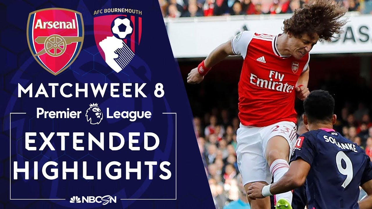 Arsenal v. Bournemouth | PREMIER LEAGUE HIGHLIGHTS | 10/6/19 | NBC Sports