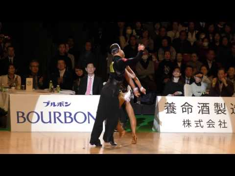 4K 2017 WDSF World Open Latin in Tokyo | Marthe Brinch Rhode - Sandra Sorensen, DEN | Final JIVE
