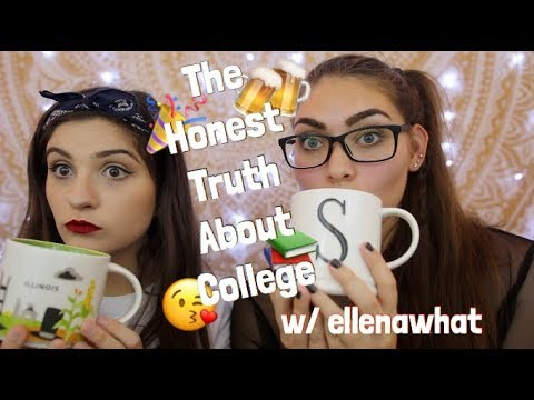 THE HONEST TRUTH ABOUT COLLEGE w/ ellenawhat  | Arizona Stat
