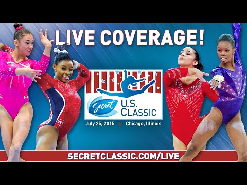2015 Secret U.S. Classic - Senior Women's Podium Training