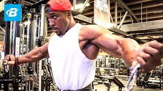 Quick Pump Chest Workout | Lawrence Ballenger, IFBB Classic Physique Pro