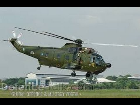 Our Nuris , The RMAF's work horse, otherwise known as Sikorsky S61A-4 - Helicopter Heroes