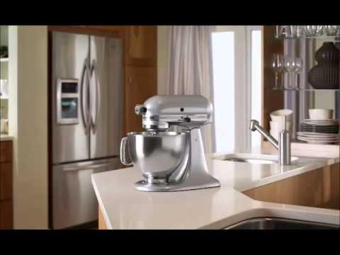 Kitchenaid Artisan Series 5 Quart Mixer Metallic Chrome