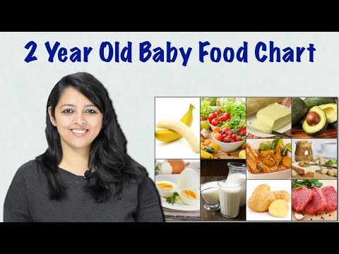 2 Year Old Baby Food Chart For The Whole Day How We Plan Our Babies Diet Youtube
