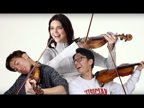 Classical Violinists React to Kendall Jenner Playing Violin and Other Celebrities