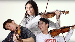 Classical Violinists React to Kendall Jenner Playing Violin (and Other Celebrities)