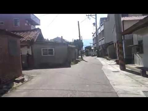 Bike riding in the countryside of Taiwan