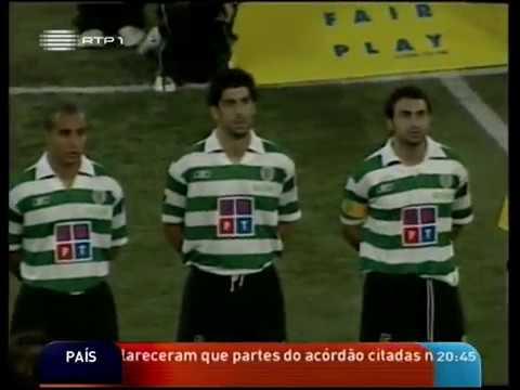 Santos - 3 x Sporting - 5 de 2004/2005 Particular (Alfa Cup)