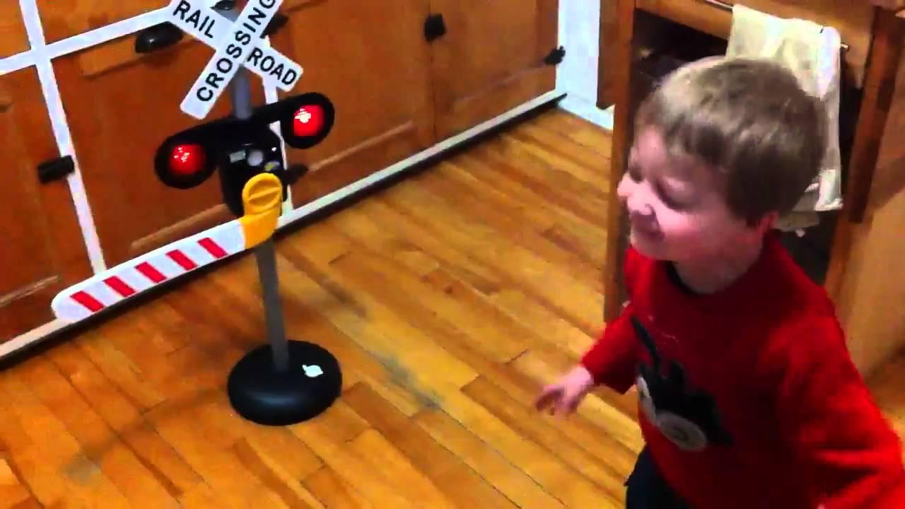 Sunshine Kids Railroad Crossing