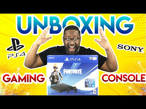PS4 Neo Versa Fortnite Edition Bundle Unboxing | Playstation 4 | Tech Unboxing Videos