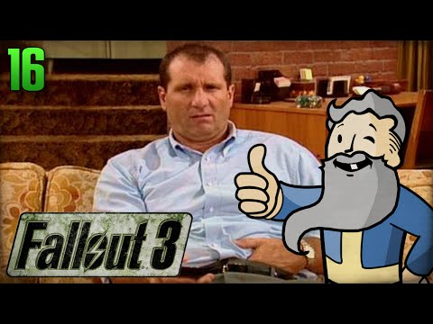 "Fallout 3 Gameplay Walkthrough Part 16 - ""MY DEADBEAT DAD!!!"" 1080p HD"