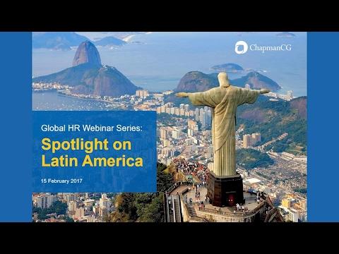 ChapmanCG Webinar on Latin America 2017