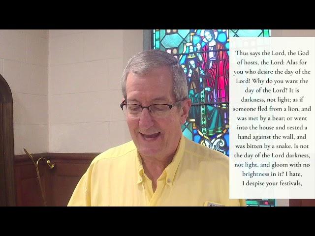 The Twenty-third Sunday after Pentecost 11.8.20