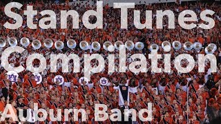 2017 Auburn University Marching Band - Stand Tunes Compilation