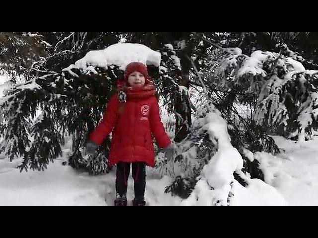 Изображение предпросмотра прочтения – ЗлатославаПоляченко читает произведение «Зима недаром злится...» Ф.И.Тютчева