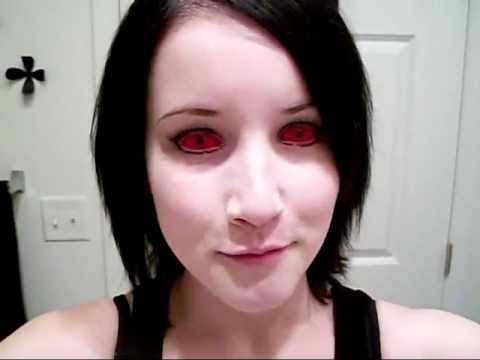 Inserting And Removing Red Sclera Contact Lenses Plus Faq