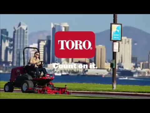 Die neue Groundsmaster 3000-Serie von Toro