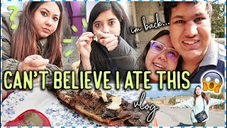 Can't Believe I Ate This....I'm back | Vlog | ThatQuirkyMiss