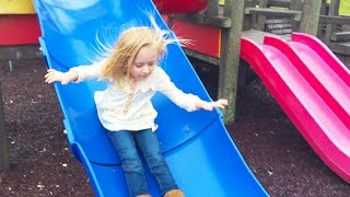Video Playground Park Fun Place for Kids to Play Outside Play Center Area W/ Slides, Swings & Monkey Bars download MP3, 3GP, MP4, WEBM, AVI, FLV Desember 2017