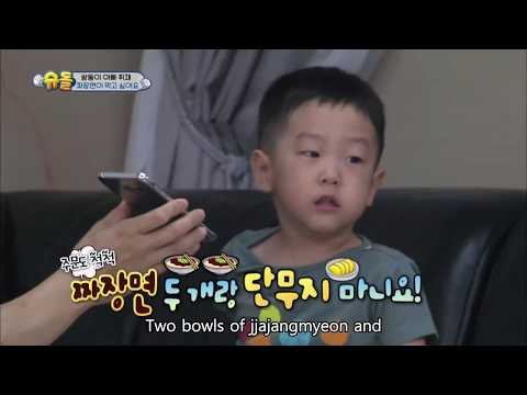 Twins' House - I want to eat Jjajangmyeon [The Return of Superman / 2016.10.09]