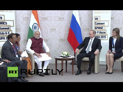 LIVE: Putin holds meeting with prime minister of India Narendra Modi