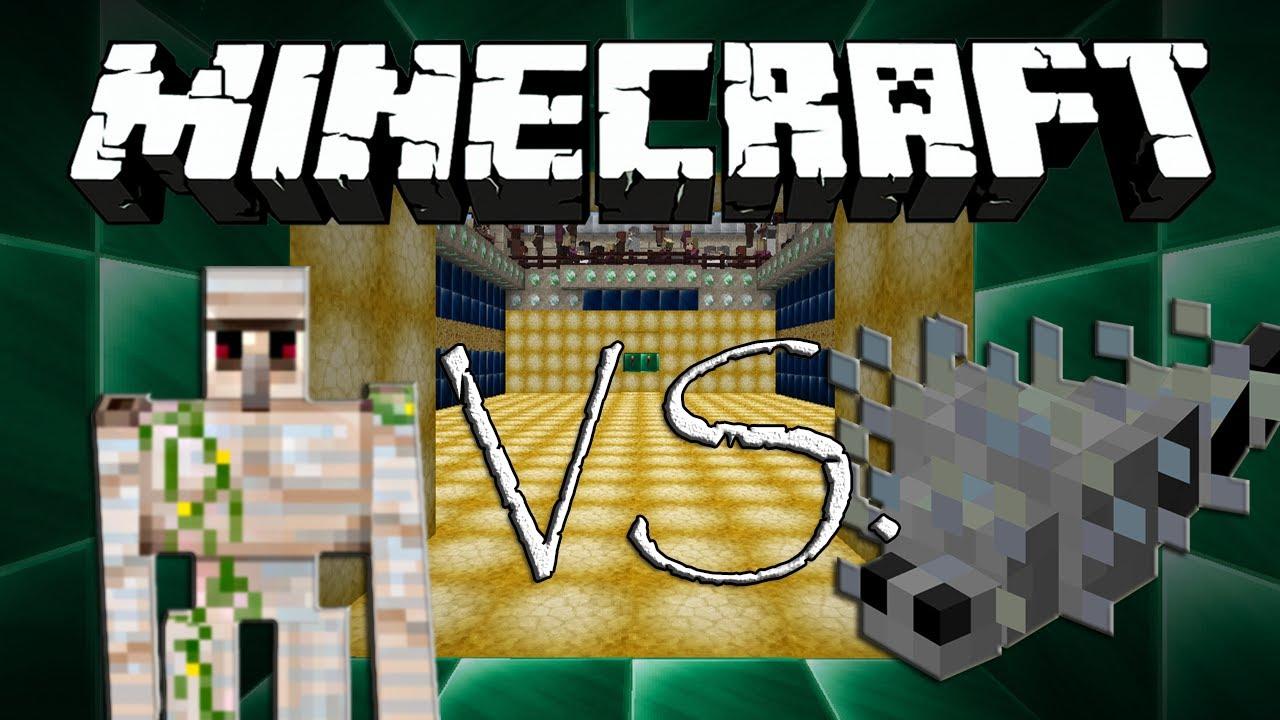 eisengolem vs silberfische minecraft eisengolem vs monster 08 youtube. Black Bedroom Furniture Sets. Home Design Ideas